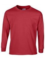 GILDAN® ULTRA COTTON® LONG SLEEVE YOUTH T-SHIRT. 240B